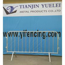 Construction de sécurité Panneau de clôture temporaire en acier moulé en acier soudé / panneau soudé revêtu de PVC pour l'escrime