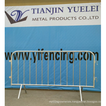 Crowd Control Barriers Temporary Fence/Steel Crowd Control Barriers for Pedestrian/Crowd Control Barriers Manufacturers
