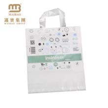 Hot !! saco de transporte de pano de reciclagem branco personalizado
