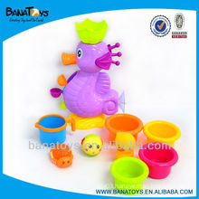 Seahorse kids bath set shower toy for kids bath toys