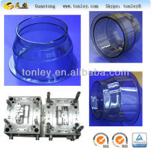 clear plastic cup injection mould for pet fish tank