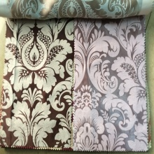 Luxury 100% Polyester Jacquard Blackout Curtain Fabric Malaysia