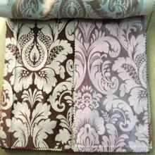 Luxury 100% Polyester Jacquard Blackout Curtain Fabric Malaysia