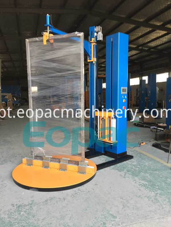 Door Window Stretch Wrapping Machine