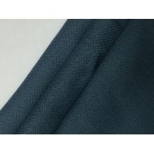 Tecido sólido de sarja de dois lados de rayon dos anos 60