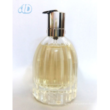 Ad-P445 Bouteille de parfum en verre incurvée transparente pulvérisateur 60ml 25ml