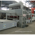 MDF/Plywood/Particle Board Short Cycle Melamine Lamination Hot Press Production Line