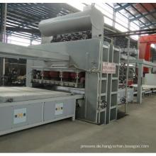 Automatische Kurzzyklus-Heißpress-Furnier-Produktionslinie