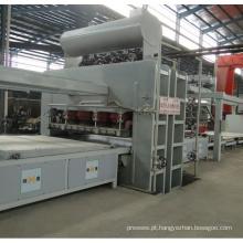 Linha de produção automática de folhetos de ciclos curtos automáticos de ciclo curto
