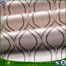 Jacquard Polyester Flame-Resistant Lightproof Flocking Shading Curtain Fabric