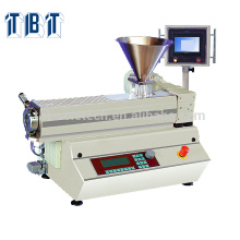 TBTSE-8176BT Plastic Processing Bench Top PLC Type Single Screw Extruder