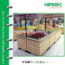 supermarket vegetable display stand and holder