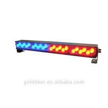 Cubierta Mini guión emergencia rojo/azul luz luces LED