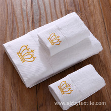 100%cotton 450gsm 21s/2 white bath towel for hotels