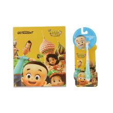 Brosse à dents d'enfants mignons de dessin animé d'OEM