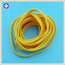 Yellow Flat Elastic Cord For Mask