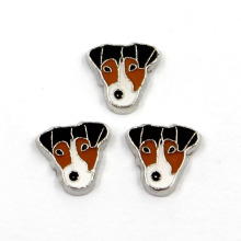 Fashion Animal Dog Alloy Floating Locket Charms