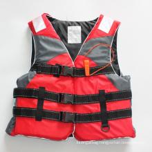 wholesale customized kayak nylon EPE foam lifevest