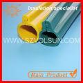 Douille de câble de rétrécissement de la chaleur en caoutchouc de silicone résistant à haute température