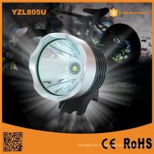 Yzl805u USB аккумуляторная Xm-Lt6 светодиодная передняя фара для светодиодного фонаря для велосипедов