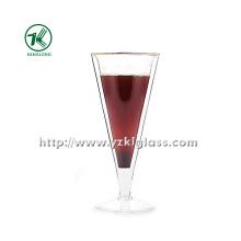 Único vidro de vinho da parede por SGS (200ML)