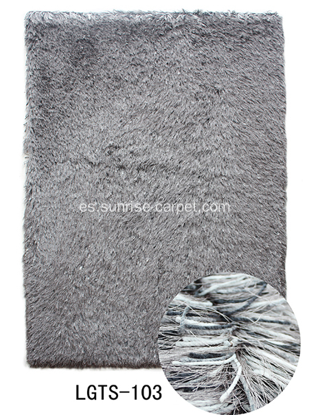 Elastic & Silk Mix Alfombra Shaggy