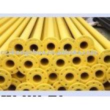 Tuyau en acier 3pe pour gaz / eau / huile Meilleur prix ASTM API SSAW
