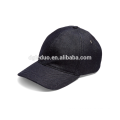Gorra de béisbol ajustable de cuero negro con gorra de béisbol y gorra de béisbol
