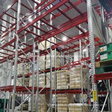 Heavy Duty Metal Galvanized Pallet Rack for Outdoor Use