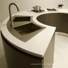 Модифицированный акриловый стол кассира столешницы / твердая поверхностная встречная верхняя часть