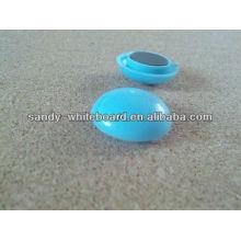 Botão magnético de plástico, ímã revestido de plástico, botão magnético redondo, acessórios de quadro branco, 20mm XD-PJ201-1