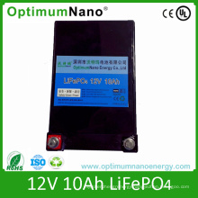 12V 10ah LiFePO4 Battery for LED Lighting