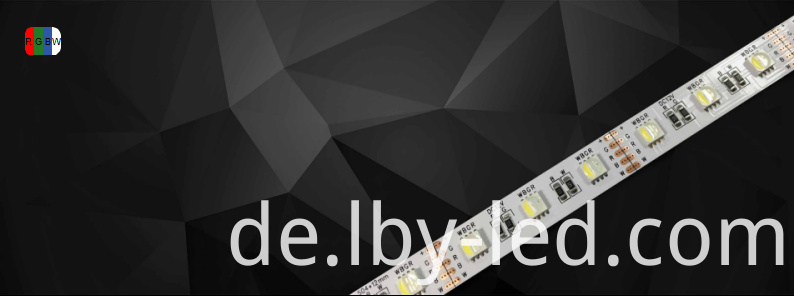 RGBW LED strip 4 in 1