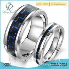 Venda quente, anel elegante do tungstênio do aço inoxidável da jóia