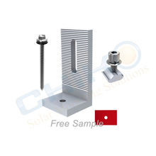Anodized Solar Mounting Clamping Brackets For Solar Module solar mounting bracket l foot