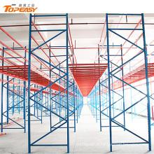 Trade assurance rack de armazenamento de armazém pesados em weifang