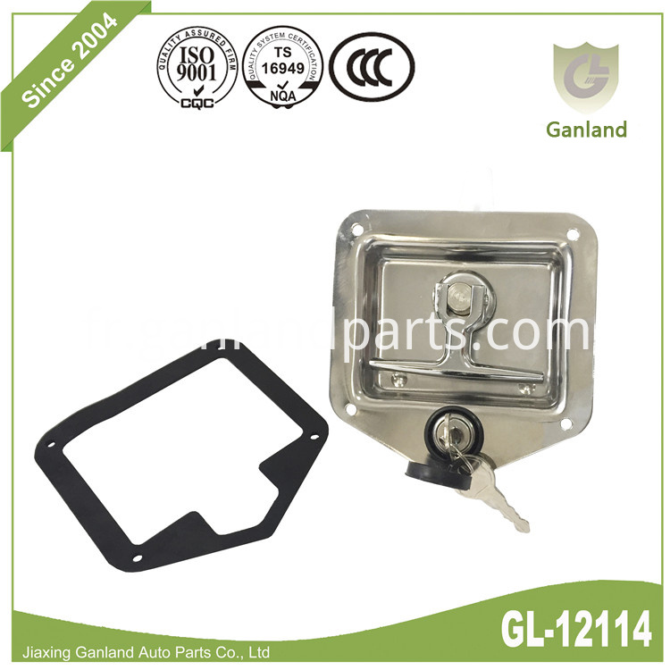 Flush mounted latch GL-12114