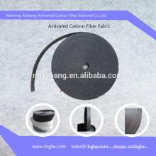 Feutre de fibre de charbon de bois activé par pureté de l'air