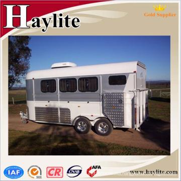 Goose neck cattle/horse float,cheap 4 horse float ,gooseneck horse trailer from china