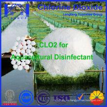 Desinfección de la acuicultura Química Dióxido de cloro