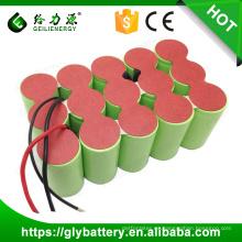 Paquete de batería recargable de alta capacidad Ni-CD 18V 3000mAh / 4000mah / 5000mah D