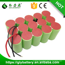 High capacity Ni-CD 18V 3000mAh/4000mah/5000mah D size rechargeable battery pack
