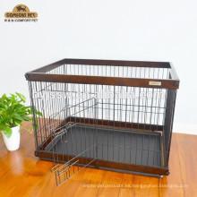 Casa de mascota de madera de buena calidad más vendida (muestra gratis)