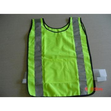 100%polyester High visibility warning reflective safety sports vest