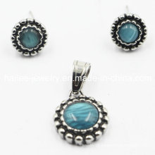 China Wholesale 316L Opal Jewelry Sets Earrings Pendant