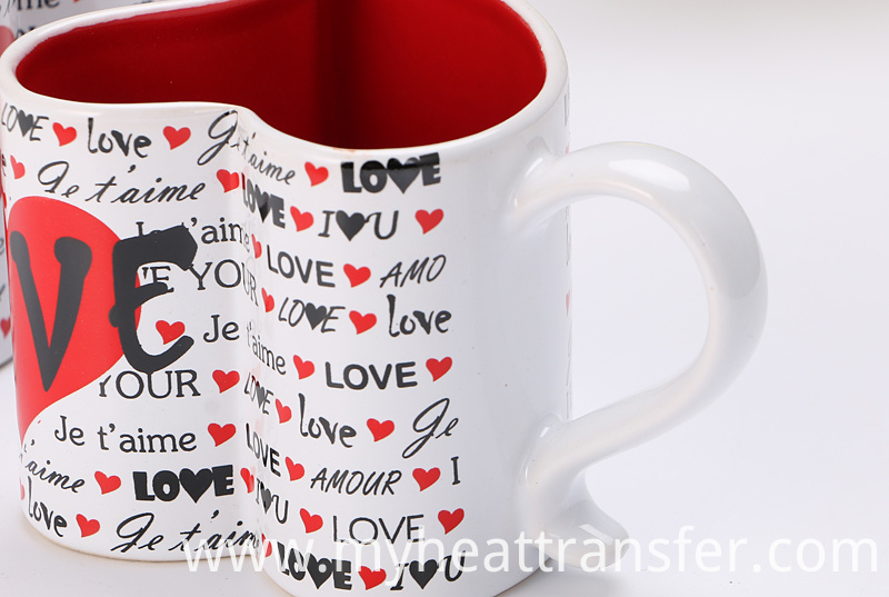 Ceramic lovers mug