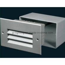 Aluminum LED Recessed Wall Light IP65