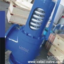 Válvula de seguridad de elevación completa con muelle
