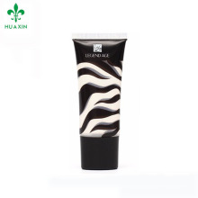 cosmetic packaging plastic black empty squeeze tube cosmetic tubes suppliers
