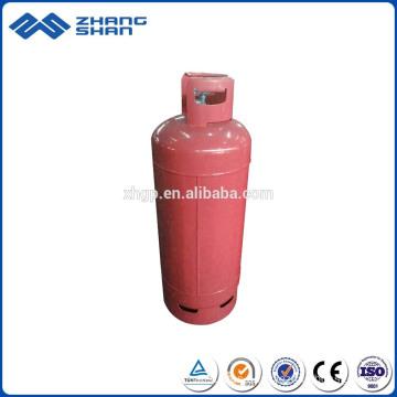 Los tanques de cilindro de gas LPG de granelero de buque de uso doméstico de 45 kg de marca famosa